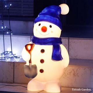 クリスマス イルミネーション led 省エネ ブローライト スノーマン.png